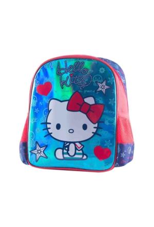 Hello Kitty 88931 Mavi Kız Çocuk Anaokulu Çantası