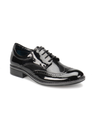 Panama Club Clasy Siyah Erkek Çocuk Ayakkabı
