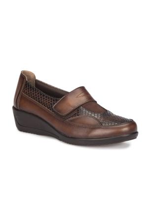 Polaris 5 Nokta 72.110012.Z Taba Kadın Anne Ayakkabısı