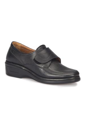 Polaris 5 Nokta 72.110054.Z Siyah Kadın Deri Ayakkabı