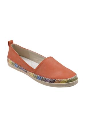 Polaris 61.156539.Z Turuncu Kadın Ayakkabı