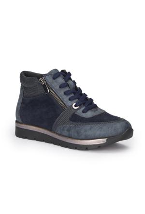 Polaris 72.310530.Z Lacivert Kadın Ayakkabı