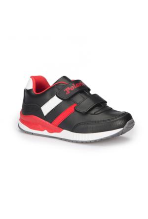 Polaris 72.509718.F Siyah Erkek Çocuk Ayakkabı