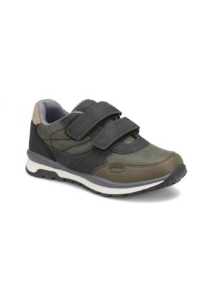 Yellow Kids Yk106 Haki Siyah Erkek Çocuk Ayakkabı