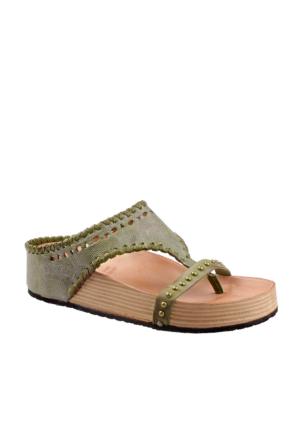 As 98 Kadın 994002 101 6374 Sandali Donna Pelle Suola Sintetica Air Step Sandalet
