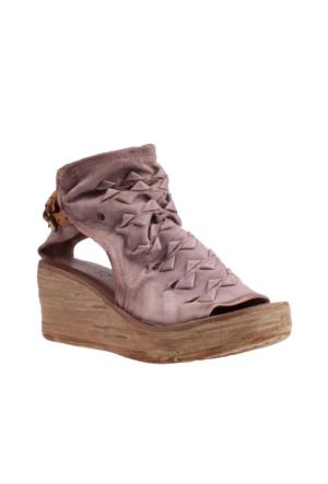 As 98 Kadın 528012 101 0001 Sandali Donna Pelle Suola Sintetica Air Step Sandalet