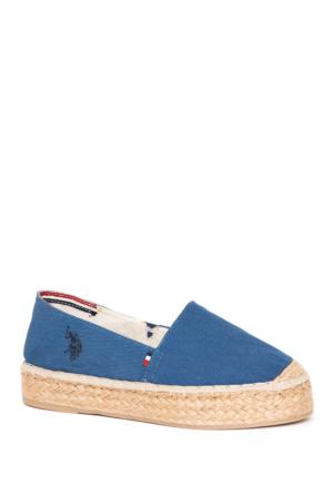 U.S. Polo Assn. Y7Aliz Ayakkabı Mavi