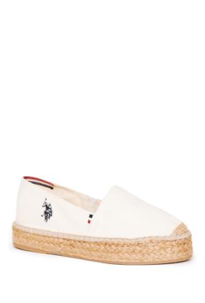 U.S. Polo Assn. Y7Aliz Ayakkabı Beyaz