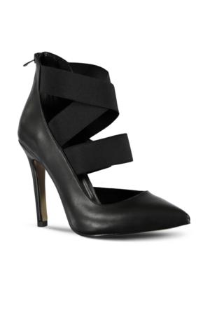 Marjin Amas Topuklu Ayakkabı Siyah