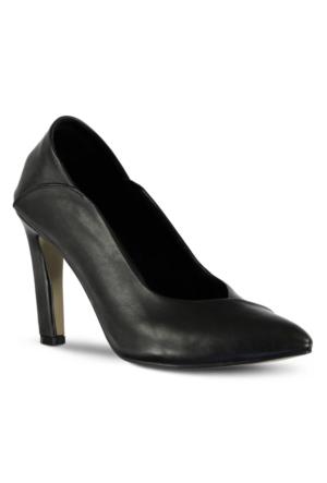 Marjin Vursat Topuklu Ayakkabı Siyah