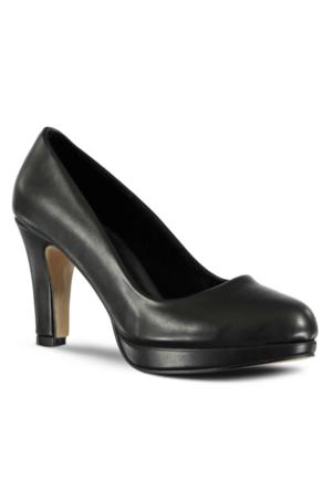 Marjin Valerin Topuklu Ayakkabı Siyah