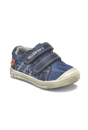 Yellow Kids 169-035 Lacivert Erkek Çocuk Sneaker Ayakkabı
