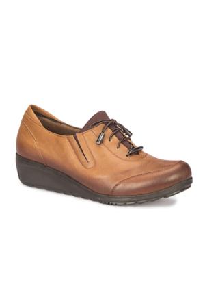 Polaris 72.110222.Z Taba Kadın Deri Ayakkabı