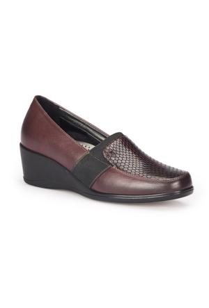 Polaris 72.158032.Z Siyah Kadın Anne Ayakkabısı