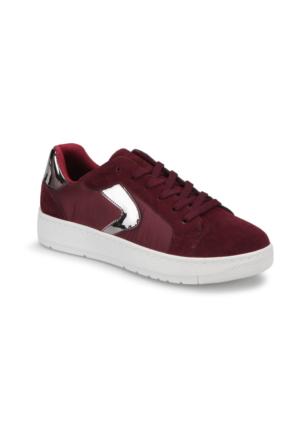 Art Bella Cw17015 Bordo Kadın Sneaker Ayakkabı