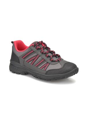 Torex Power W Gri Fuşya Kadın Outdoor Ayakkabı