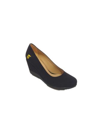 Taymir 7-006 Dolgu Topuk Kadın Ayakkabı