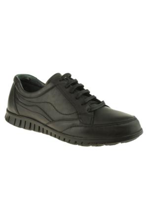 Alisolmaz 728 Bağlı Günlük Siyah Erkek Ayakkabı