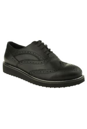 Greyder Kadın 52061 Trendy Siyah Ayakkabı