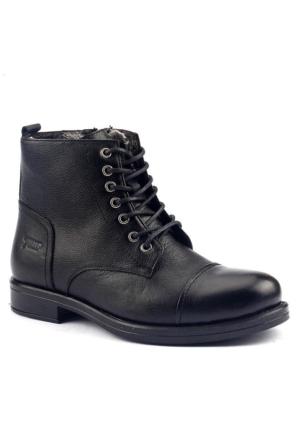 Jump 16499 Termal Kürklü Çizme Erkek Bot Ayakkabı