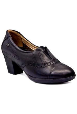 Forelli 22615 Ortopedik Kadın Ayakkabı - Siyah