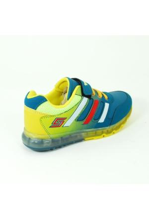 Arvento Erkek Çocuk Günlük Spor Ayakkabı-Petrol-113419-02