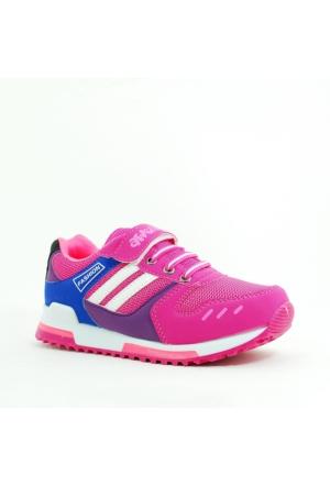 Arvento Kız Çocuk Spor Ayakkabı-Mor-113331-02