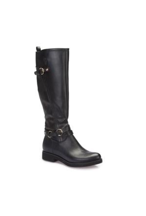 U.S. Polo Assn. A3377306 Siyah Kadın Basic Casual Çizme