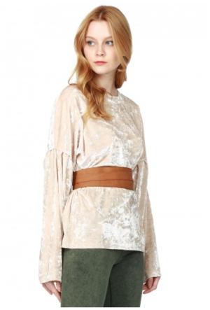 Bsl Fashion Kahverengi Kemer 9525