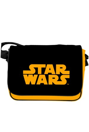 Sd Toys Star Wars Orange Logo Messenger Bag Omuz Çantası