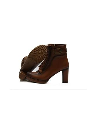 Despina Vandi Kadın Topuklu Bot Puka 2051-1