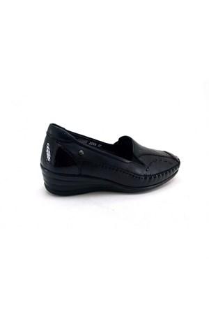 Forelli Kadın Günlük Deri Ortopedik Kalıp Ayakkabı 3558