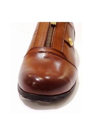 King Paolo Kadın Günlük Deri Ayakkabı F5545