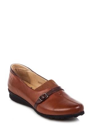 King Paolo Kadın Günlük Deri Ayakkabı F5553