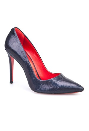 Crunell Stiletto Günlük Kadın Ayakkabı Siyah Kumaş
