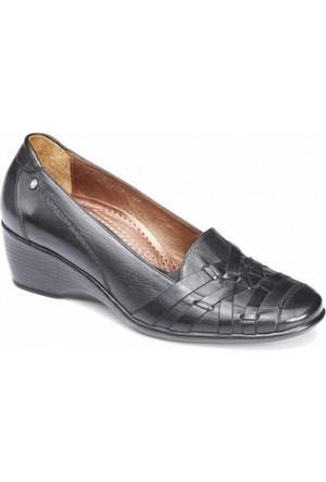 Forelli Kadın Günlük Deri Ortopedik Kalıp Ayakkabı 3419
