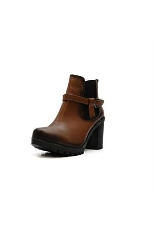 Punto Kadın Topuklu Bot 694032-02