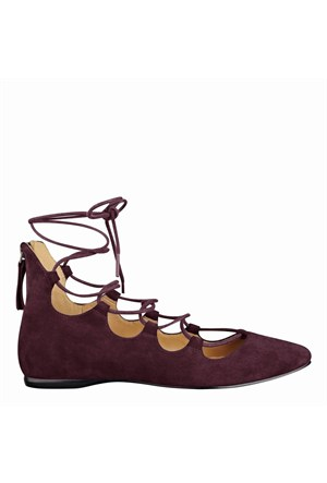 Nine West Nwsignmeup Kırmızı Gerçek Süet Ayakkabı