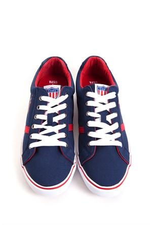 U.S. Polo Assn. S081sz033.Csl.Y5z011.200 Lacivert Ayakkabı