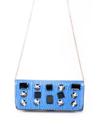 Auren Kadın Askılı Çanta Mavi