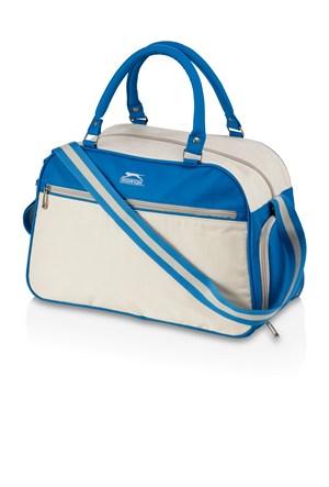 Slazenger 11981800 Retro Spor Çanta Mavi Beyaz