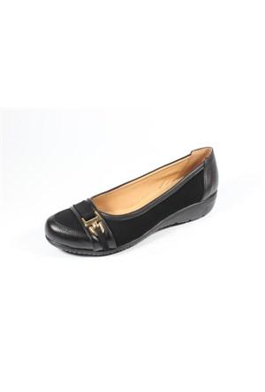 Ella 255-11 Siyah Bayan Topuklu Ayakkabı