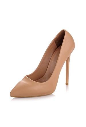 Sothe Zy-1976 Ten Bayan Stiletto Ayakkabı