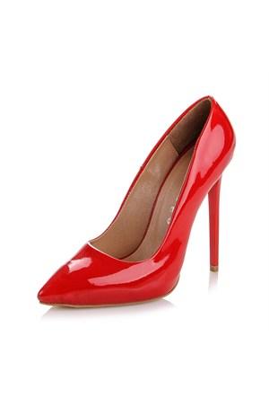 Sothe Zy-1976 Kırmızı Bayan Stiletto Ayakkabı