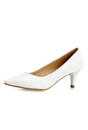 Sothe Zy-017 Beyaz Bayan Ayakkabı