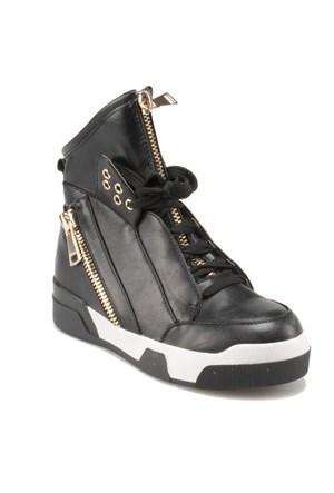 Art Bella C17056 Siyah Kadın Sneaker Ayakkabı