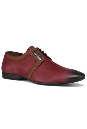 Salvano Bordo Erkek Nubuk Deri Ayakkabı