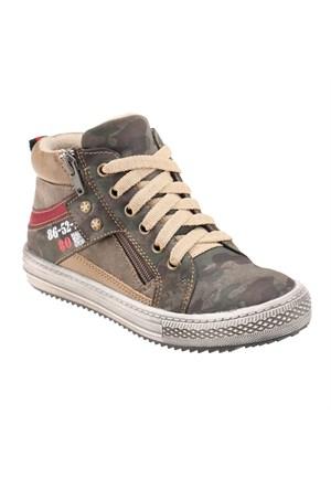 Yellow Kids G-C14112 Haki Erkek Çocuk Sneaker Ayakkabı