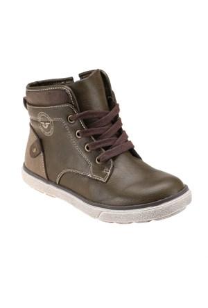 Yellow Kids 984M9524 Haki Erkek Çocuk Sneaker Ayakkabı