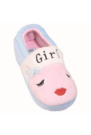Pink Step A3310281 Mavi Kız Çocuk Panduf